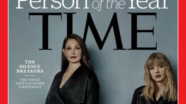 """El movimiento #MeToo es reconocido como """"la persona del año"""" de Time"""