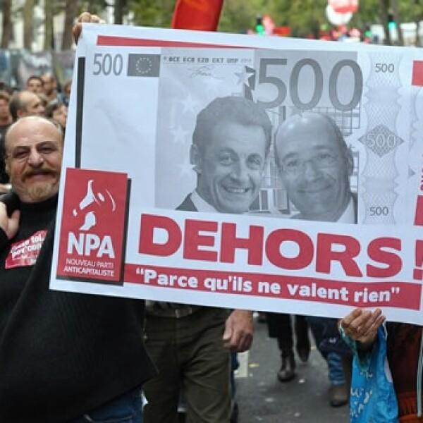 manifestacion en paris por pensiones