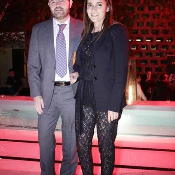 Kathy Hacker y Ataulfo Fernández