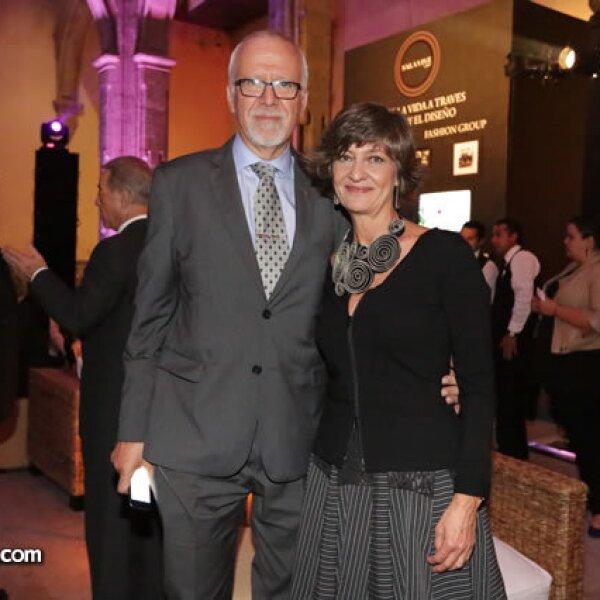 Miguel Ángel Rodríguez y Dolores Palomino