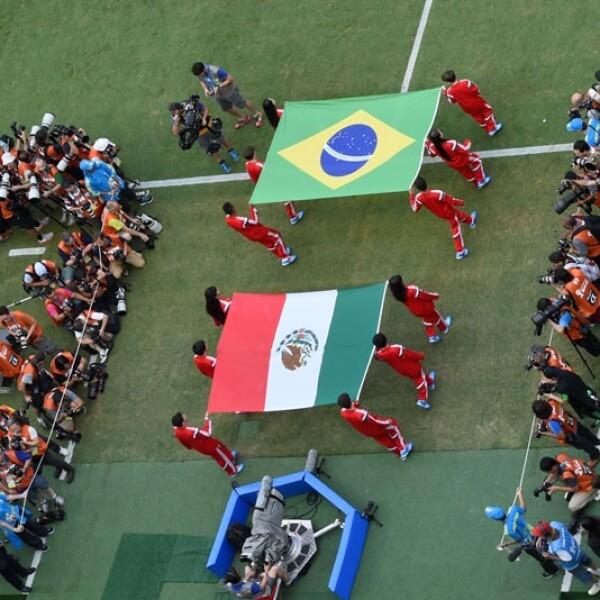 México vs Brasil