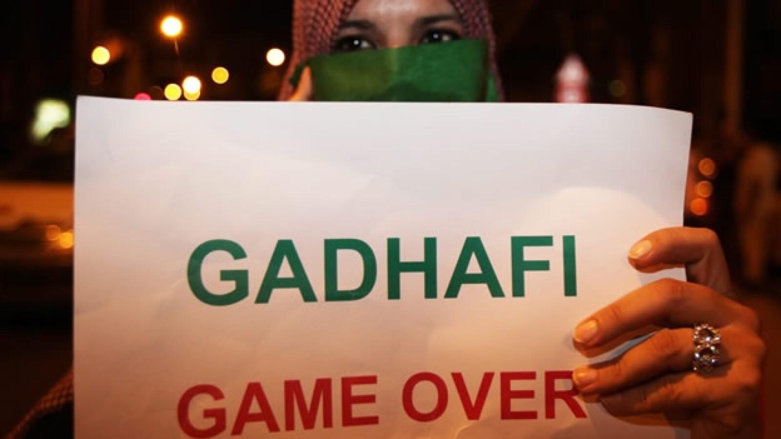Libia rebeldes Túnez ataques Moammar Gadhafi