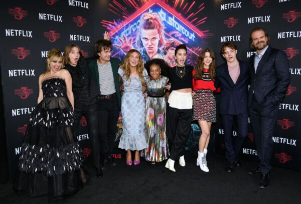 Elenco de la serie Stranger Things.