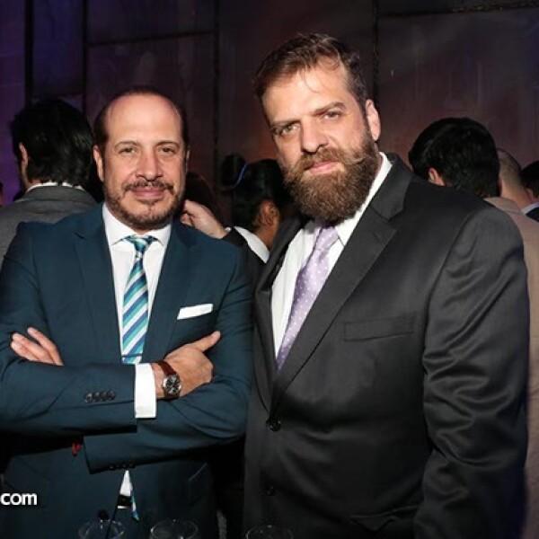 Mario Medina y Ernesto Slim