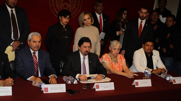 Napoleón Gómez Urrutia CIT trabajadores central obrera