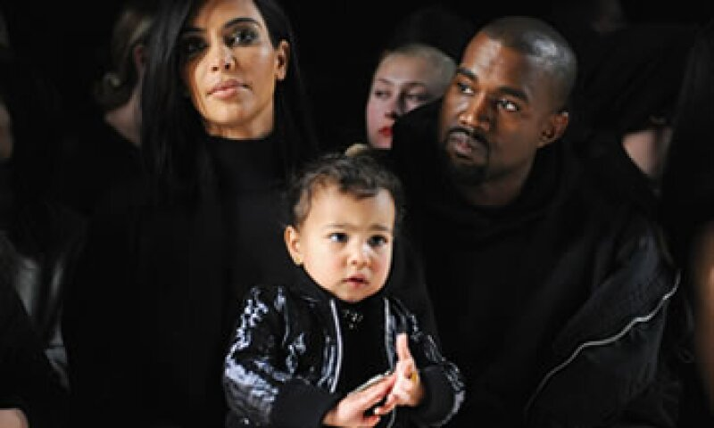 Kim Kardashian agradeció a su esposo por su regalo del Día de las Madres. (Foto: Getty Images )