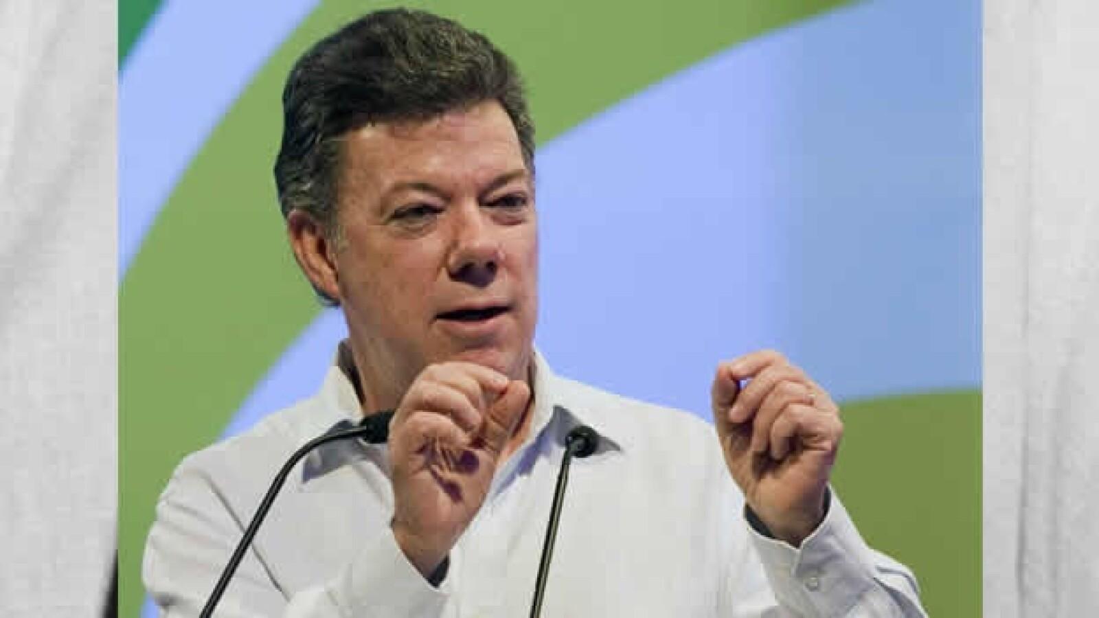 Juan Manuel Santos cumbre