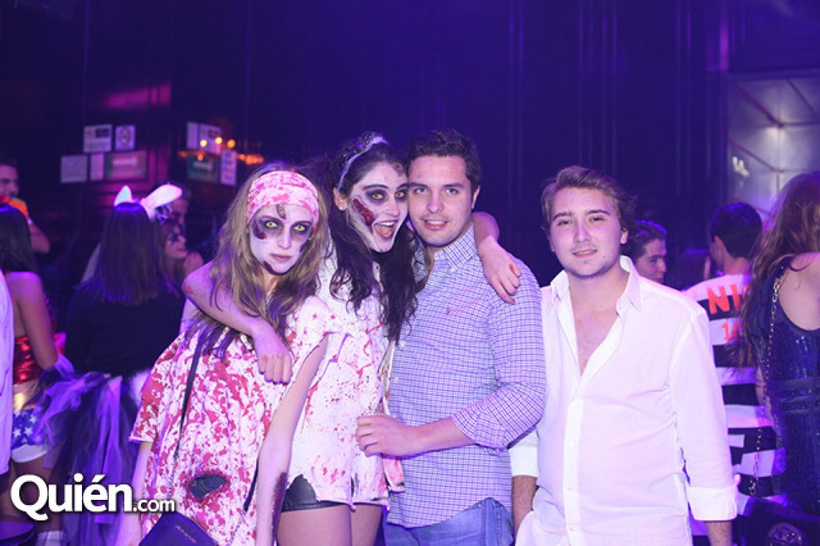 Natalia Sánchez,Daniela Indjeian,Miguel Ángel Mendendez y José Miguel Díaz