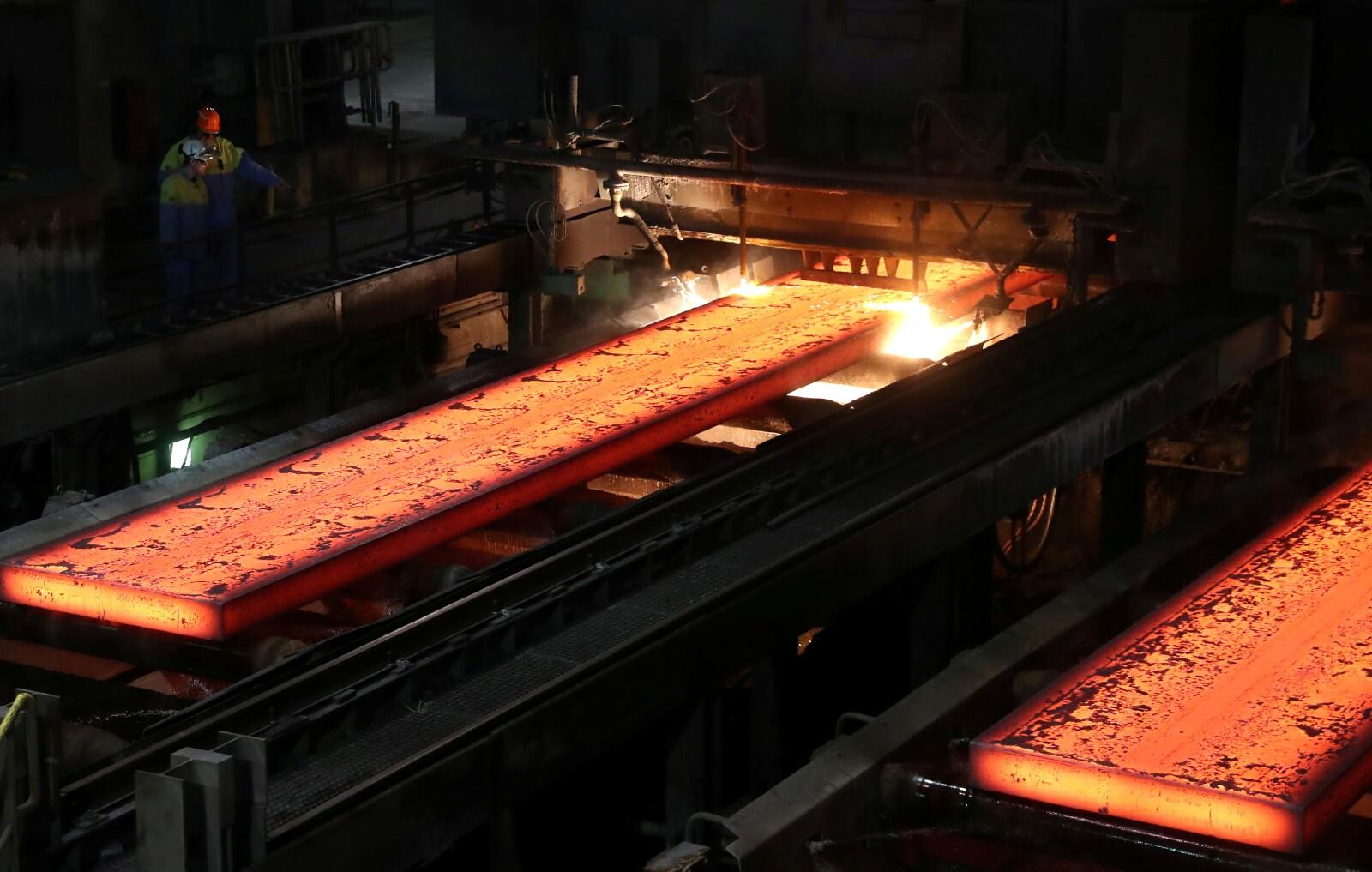 Planta de Tata steel en Ijmuiden