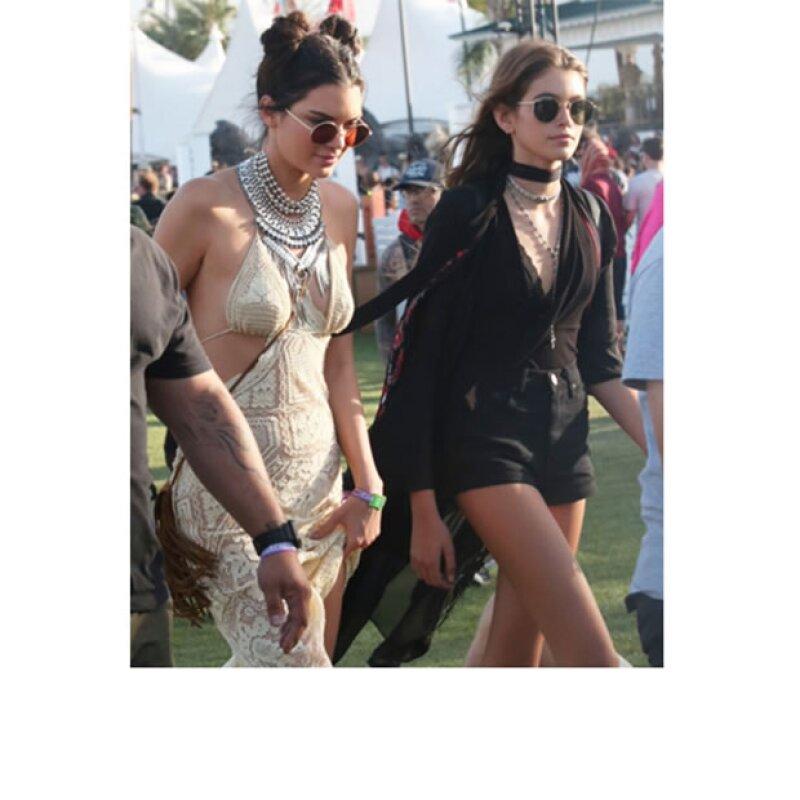 Kendall Jenner y Kaia Gerber