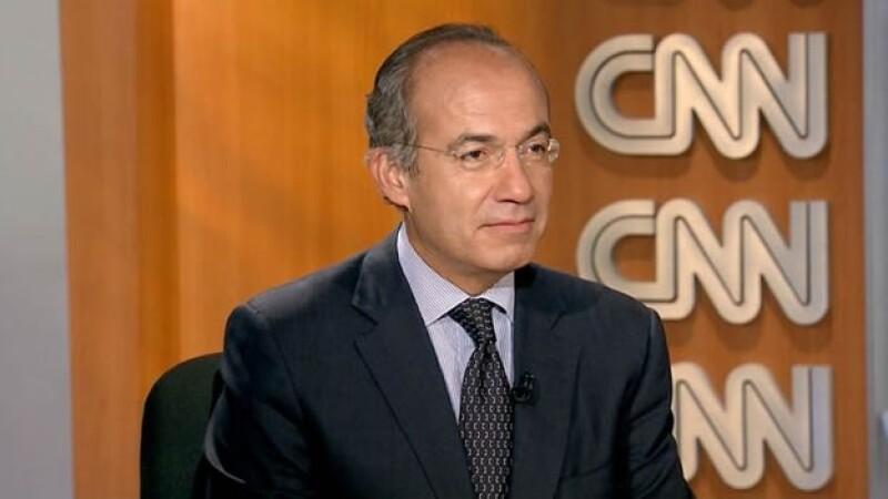 El expresidente de México Felipe Calderón habló sobre su futuro en la política en el mediano plazo