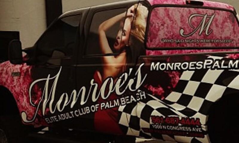 El local se anuncia como un club para adultos de élite. (Foto: Tomada de Facebook.com/pages/Monroes-Of-Palm-Beach)