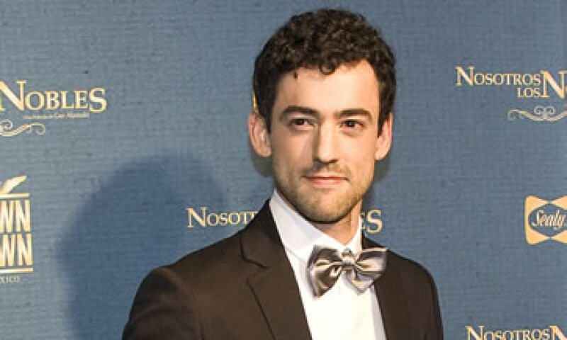 El actor Luis Gerardo Méndez protagonizará la serie a estrenarse en 2015. (Foto: AFP )