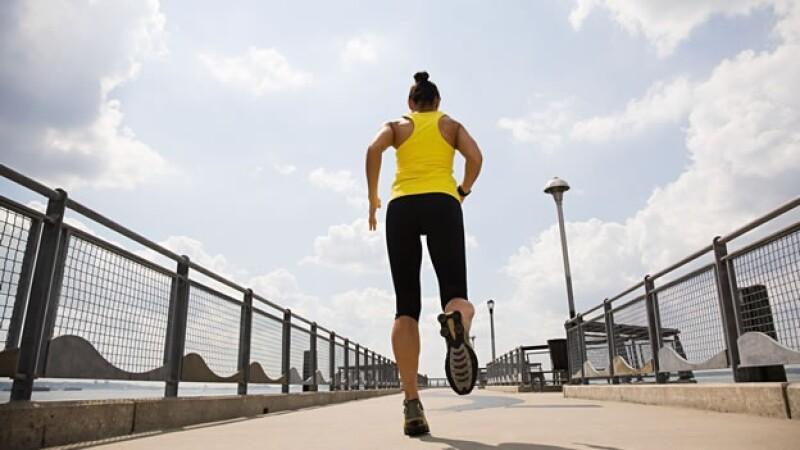 Correr, entrenamiento, rutina, ejercicio, fitness