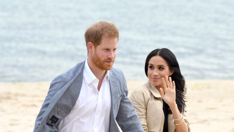 Harry y Meghan en Melbourne