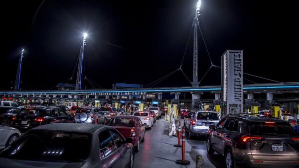 Cruce fronterizo México-EU