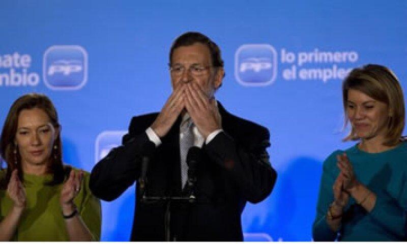 La victoria de Rajoy representa un castigo para los socialistas. (Foto: AP)