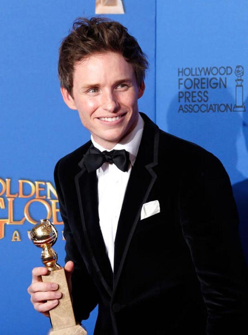 Eddie ya ganó un premio como Mejor Actor y ahora recibe la nominación a la misma categoría.