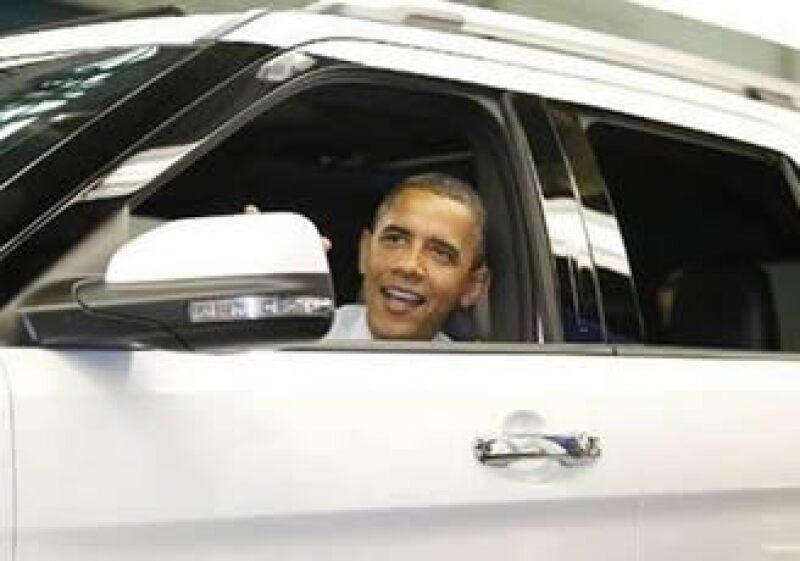 El anuncio de la garantía se produjo durante una visita del presidente Barack Obama a una planta de Ford en Chicago. (Foto: Reuters)