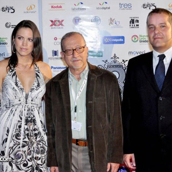 Silvia Ramírez, Orlando Mora y Miguel Ángel Pérez