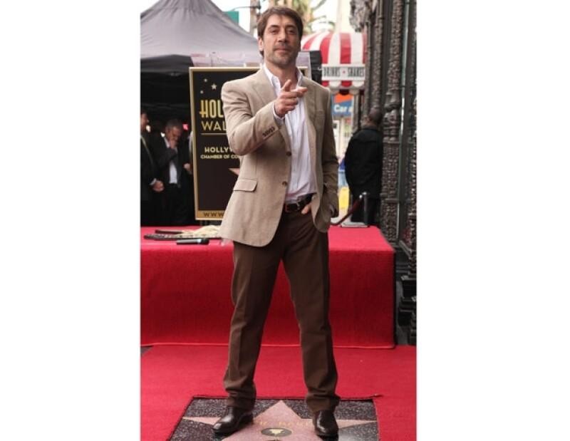Javier Bardem se encarga de administrar el negocio.