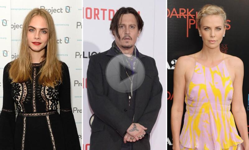 Cara Delevingne, Charlize Theron y Johnny Depp son algunos de los muchos nombres de estrellas de Hollywood que seguramente estás pronunciando mal. Aquí te decimos como hacerlo bien.