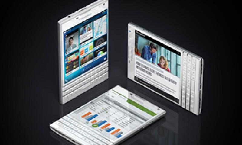 El BlackBerry Passport es uno de los modelos más recientes de la compañía. (Foto: Getty Images)