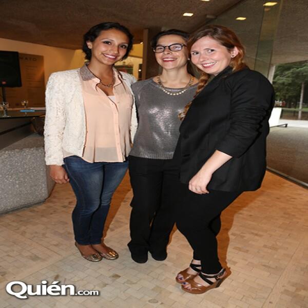 Ana Lorena Silva,Amanda Echeverria,Sofía Provencio