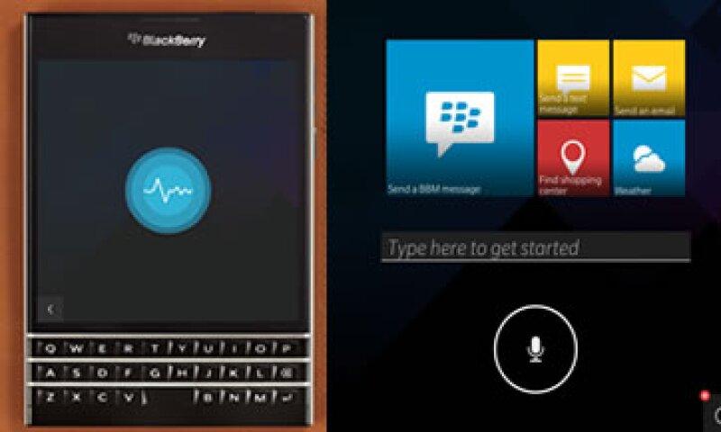 BlackBerry Assistant podrá activarse mediante el ingreso de botones o a través de palabras clave. (Foto: Cortesía BlackBerry)