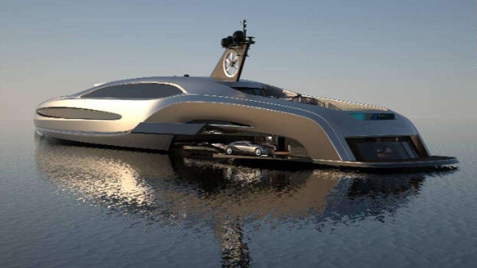 El superyate Sovereign es el más lujoso de su tipo