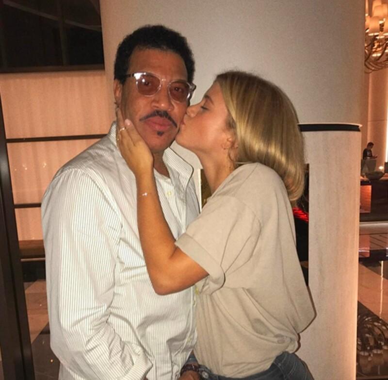 Lionel y Sofia Richie