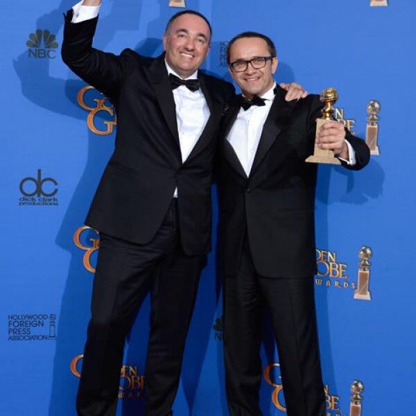 Andrey Zvyagintsev y Alexander Rodnyansky ganaron Mejor película extranjera con Leviathan.
