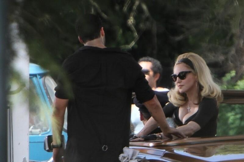 Madonna tiene 53 años pero eso no le ha hecho cambiar su forma de vestir.