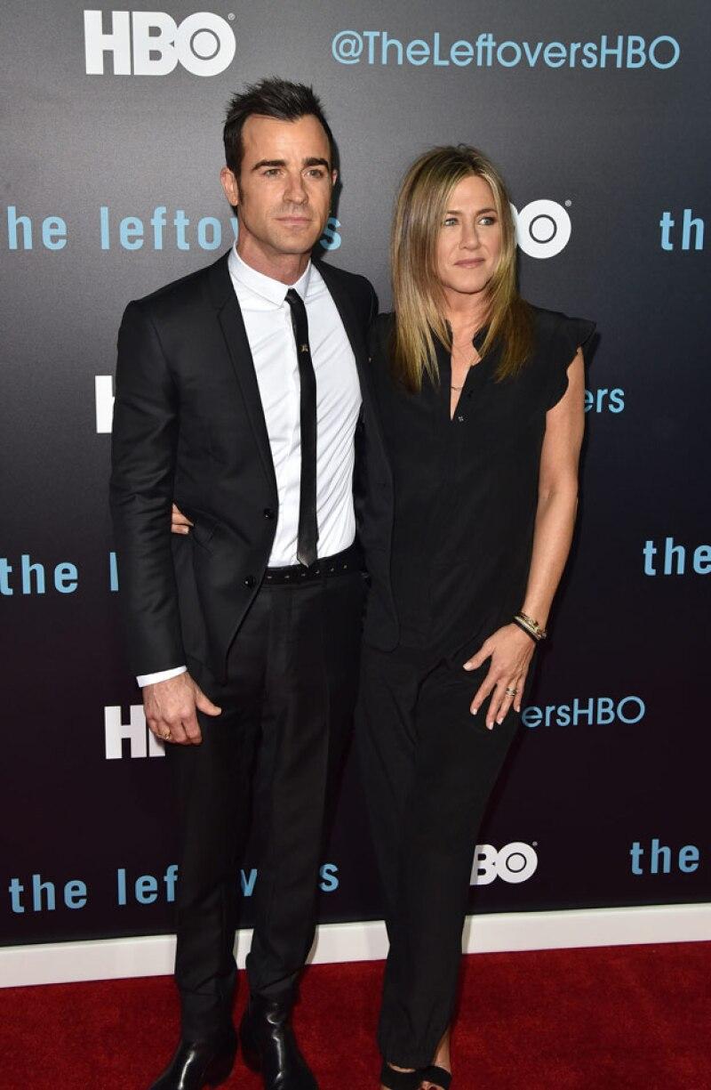 Desde su boda secreta en agosto, la pareja se había mantenido alejada del ojo público, pero ahora posaron felices durante la alfombra roja de &#39The leftlovers&#39.