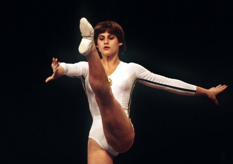 Nadia Comaneci gimnasta olímpica