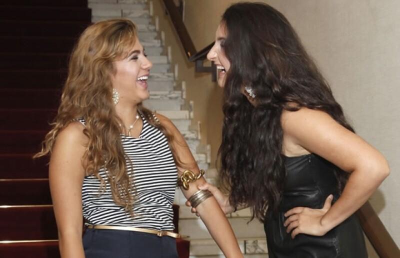 Jimena Nieto y Paola Ancona Velasco