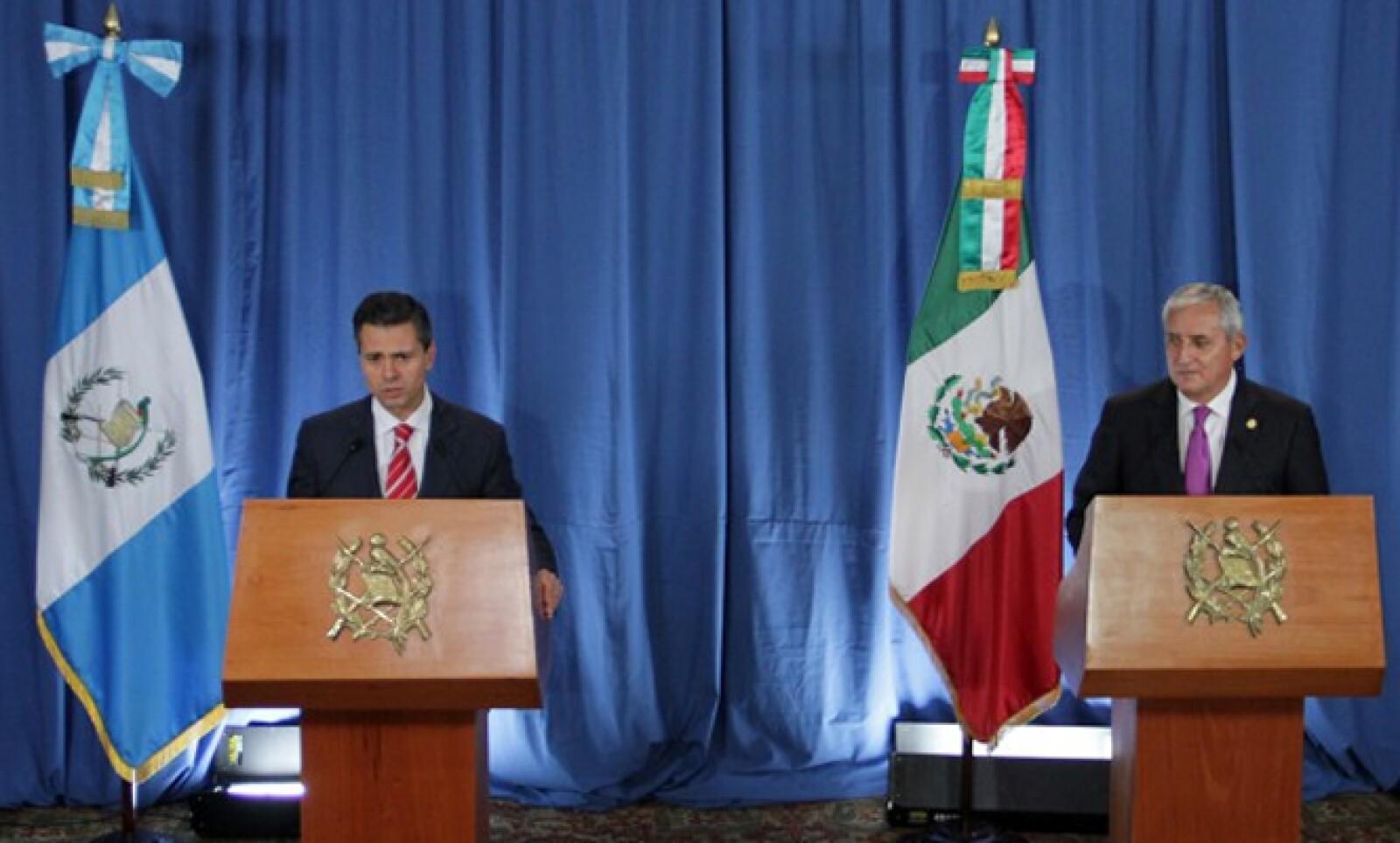 El 31 de mayo, el Ejecutivo se reunió con el presidente Otto Pérez Molina y participó en el foro de inversiones Guatemala Investment Summit 2013.