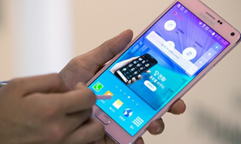 El bolígrado del Galaxy Note 4 te permite tomar notas en tu teléfono. (Foto: Getty Images )