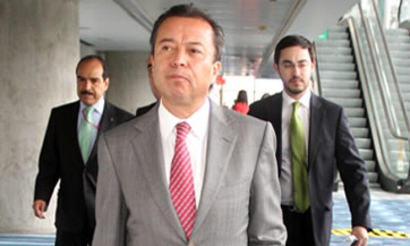 César Camacho Quiroz se pronunció por un Estado fuerte que sepa poner en orden en el ramo. (Foto: Notimex)