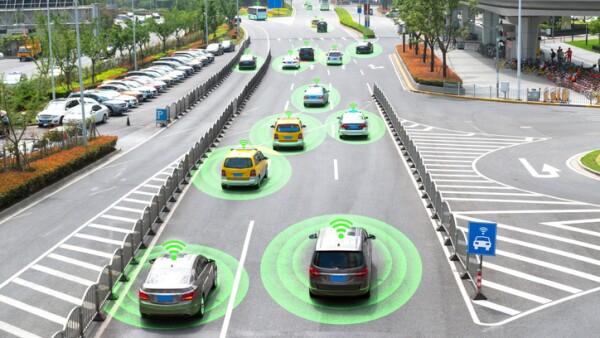 autos autónomos en circulación