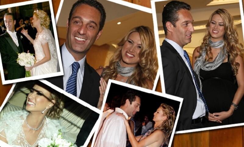 Carlos Slim Domit y María Elena Torruco cumplieron un año de casados y se estrenan como padres