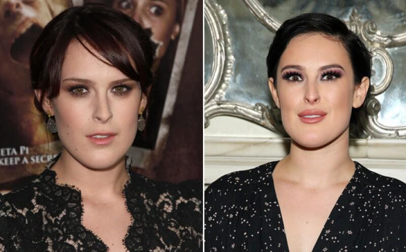 Rumer Willis, antes y después.