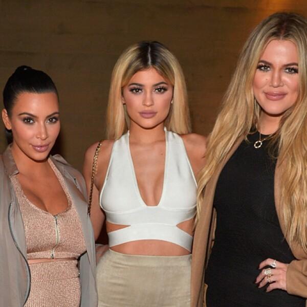 Kim, Kylie y Khloé Kardashian