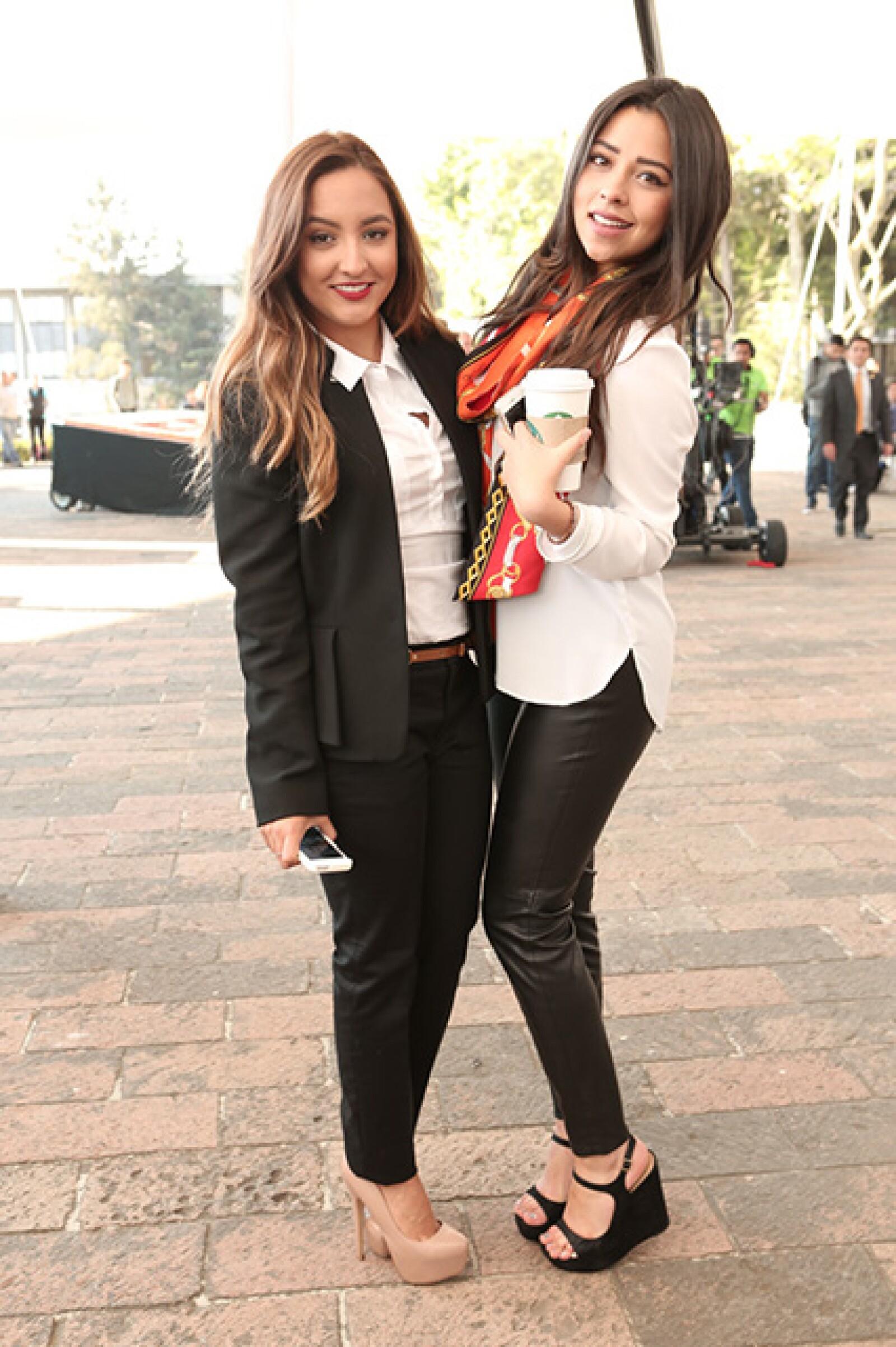 Valeria Leyva y Fernanda Piñeira