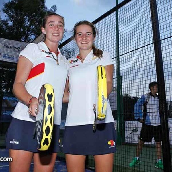 Marta Ortega y Ariana Sánchez,Campeonas Categoría Sub 18