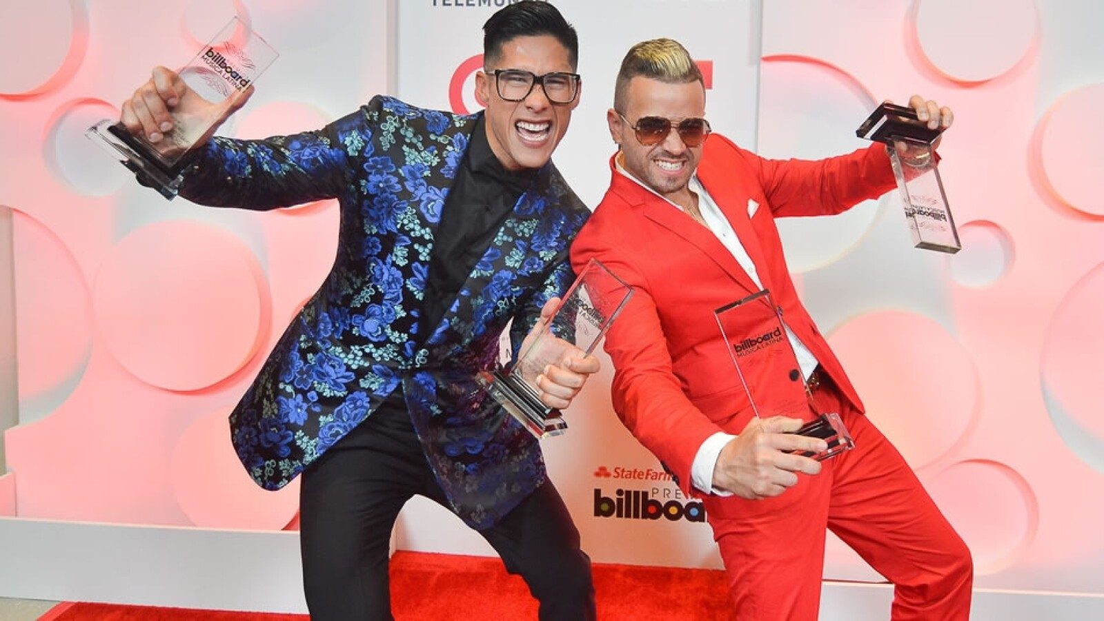 El galardón para la canción tropical fue para el dúo venezolano Chino y Nacho