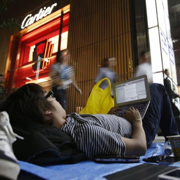 En Japón ya hay filas en espera del iPhone 5, que saldrá a la venta el 21 de septiembre.