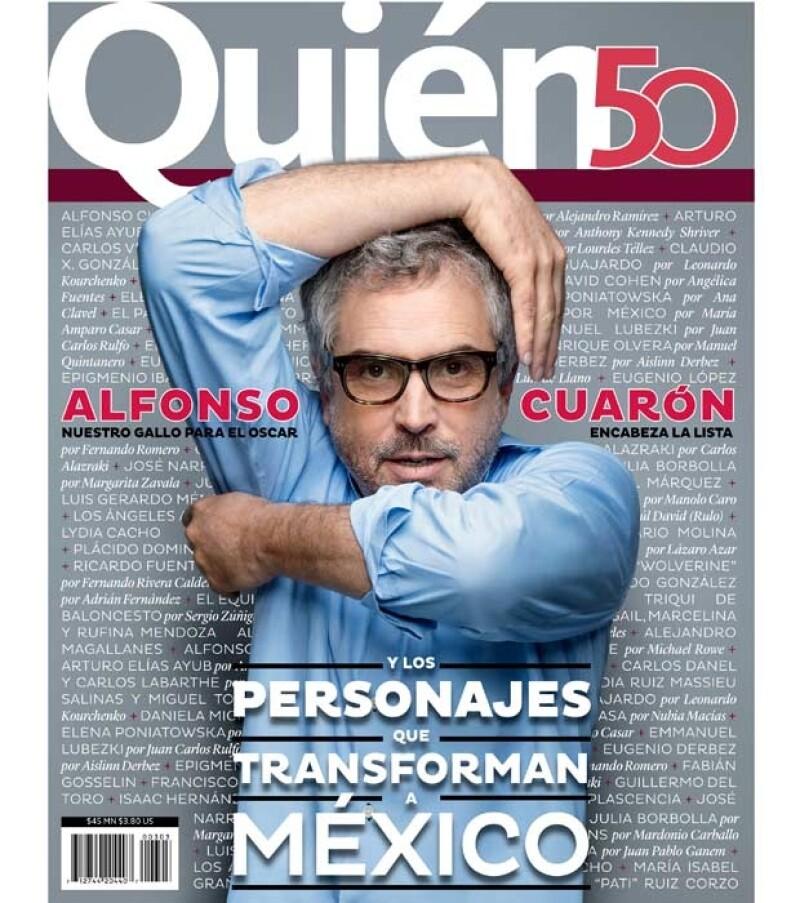 El cineasta es parte de los personajes que la revista Quién reconoce porque transforman a México y en esta edición te damos aconocer más detalles de su trabajo.