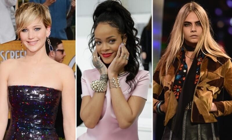 Este año los famosos no se salvaron protagonizar los titulares... Desde filtraciones de fotos al desnudo, pasando por fiestas en sitios históricos, hasta casas millonarias.