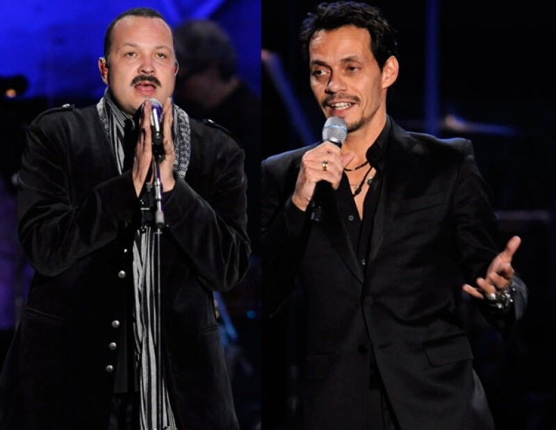 Pepe Aguilar y Marc Anthony también le cantaron a Shakira.